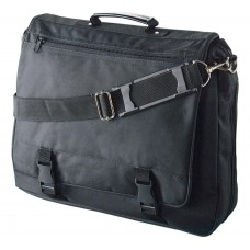 "Laptop briefcase ""simple"" 15.6"" black"