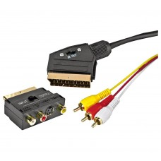SCART adapter for TV