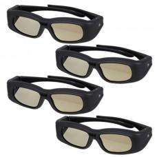 4 x passive 3D glasses