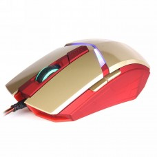 "1600 DPI  6 button wired computer mice ""SuperHero"""