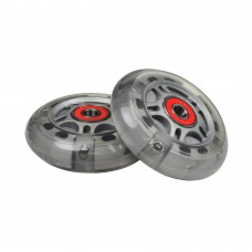 "76 mm (3"" x 1"") Light-Up Scooter Wheels with Bearings (Set of 2)"